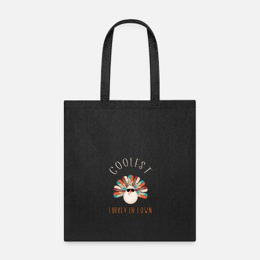 Funny Cute Toddler Boys Girls Thanksgiving T-Shirt - Tote Bag