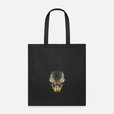 King lion gift cat wilderness Africa - Tote Bag