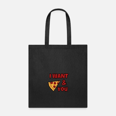 Salami I want Pizza and You - Tote Bag