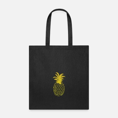 Sour Pineapple Yellow Gold Gradient - Tote Bag