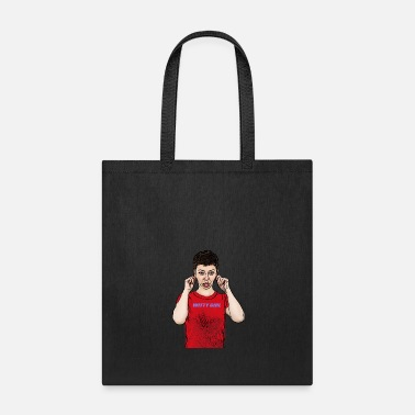 Witty cute witty girl apologizes - Tote Bag