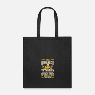 Army HR Manager Vetran Protect Supports - Tote Bag