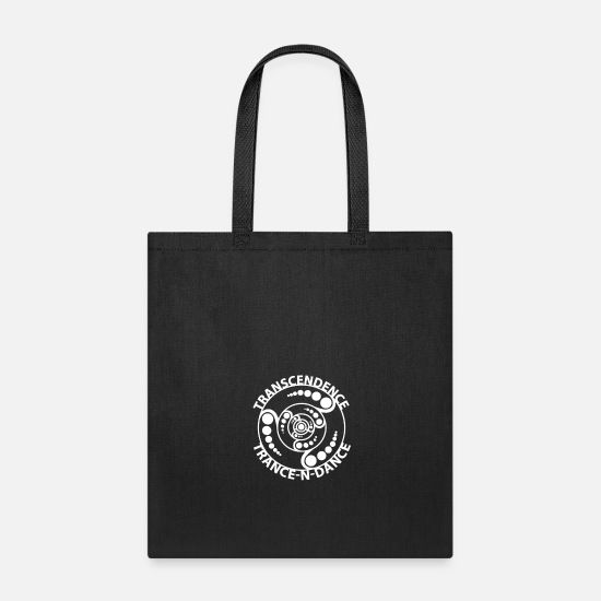 Techno Bags & Backpacks - Transcendence / Trance-N-Dance - Tote Bag black