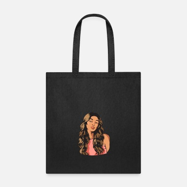 Salon Afro Woman Black Hair Style Natural Confident - Tote Bag
