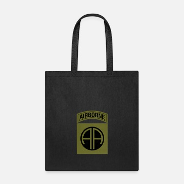 Siblings US Army 82nd Airborne Division Military Morale T-S - Tote Bag