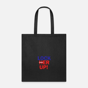 Crook Crooked Ivanka 2018 Lock her up Anti Trump Gift - Tote Bag