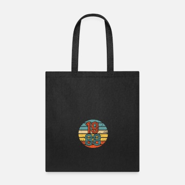 1986 1988 Birthday Year Retro Vintage Distressed Gift - Tote Bag