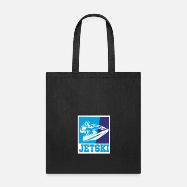 Water Skiing Jet ski retro gift - Tote Bag