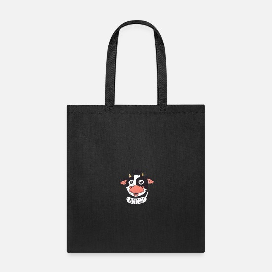 Cowboy Bags & Backpacks - Moo Cow - Tote Bag black