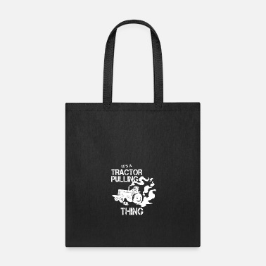 Die Tractor Pulling Power Full Pull Motorsport Gift - Tote Bag