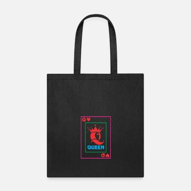 Playing QUEEN playing card - Tote Bag