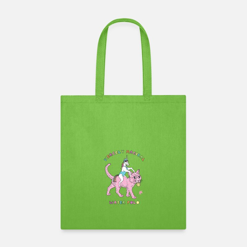 154d89a43ff Fiercely Magical Water Polo Female Unicorn Riding Tote Bag | Spreadshirt