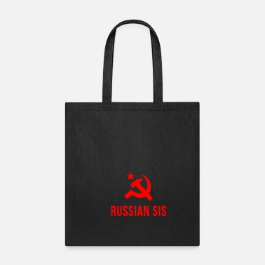 Soviet Union russian sister gift soviet symbol moscow communist - Tote Bag