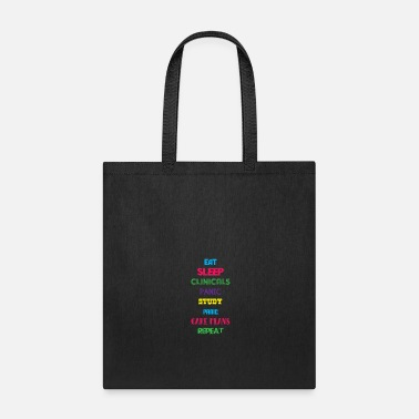 Physician Assistant Eat Sleep Nurse Repeat Doctor Medical Health - Tote Bag