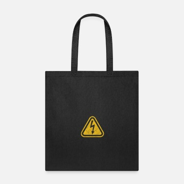 High Voltage Safety Signs High Voltage Electricity Electrician - Tote Bag