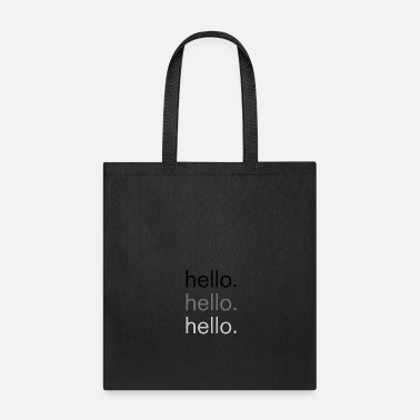 3 Point Hello Style Shirt Gift 3 Point - Tote Bag