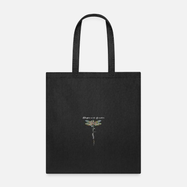 Wisdom Dragonfly whisper words of wisdom let it be - Tote Bag