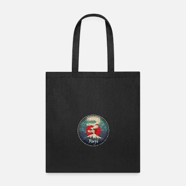 Chinese Writing Fuji Volcano Symbol Japanese Chinese Kanji - Tote Bag