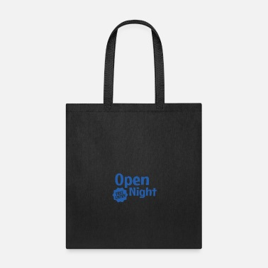 Open Source Open Night Free Entry Style - Tote Bag