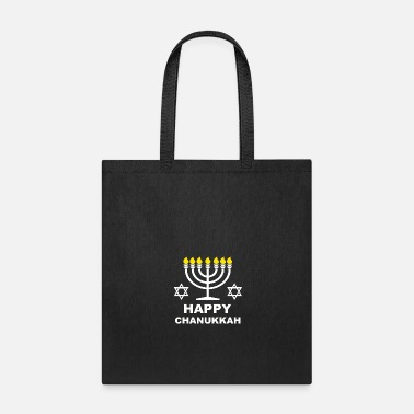 Orthodox Happy Chanukkah Menorah Gift - Tote Bag