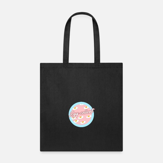 Super Bags & Backpacks - Egg-cellent Egg - Tote Bag black