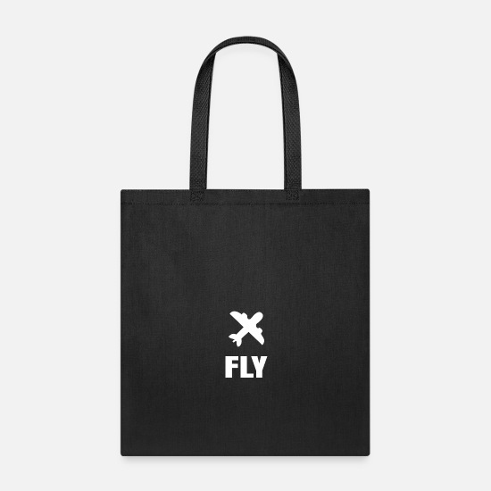 November Bags & Backpacks - FLY - Tote Bag black