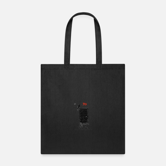 Door Bags & Backpacks - Above his chamber door - Tote Bag black