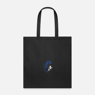 Fine Koi wave tattoo water simple fish sea ocean gift - Tote Bag
