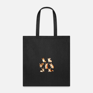 Jolly Jolly corgies - Tote Bag