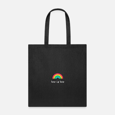 Mardi Gras Gay rainbow flag pride gaypride homosexual support - Tote Bag