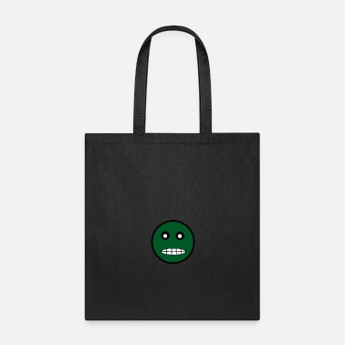 Face (green) - Tote Bag