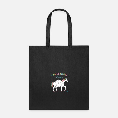 Magic Volleyball Magic Unicorn With Volleyball Body - Tote Bag