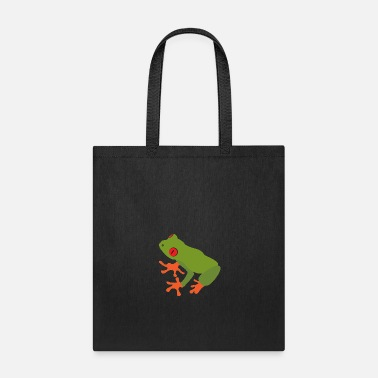 Tree Frog Collection of green tree frogs - Tote Bag