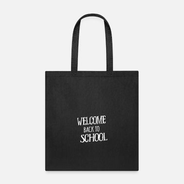Backyard Welcome back to school scary - Tote Bag