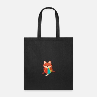 Animals Fox I love playing balls - Gift Idea - Tote Bag