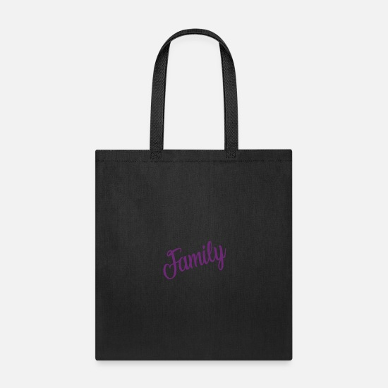 Canada Bags & Backpacks - Family - Tote Bag black