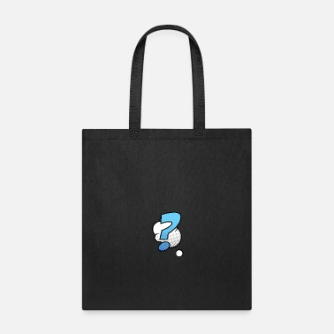 Superman Comic Style question mark comic art - Tote Bag