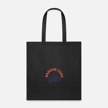 Street Art Warrior camp - Tote Bag