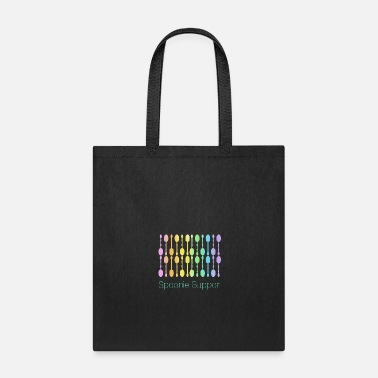 Pain Spoonie Support! (Rainbow Gradient) - Tote Bag