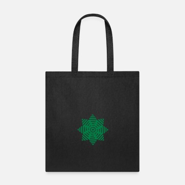 Blume pattern green nature beautiful pretty flower leave - Tote Bag