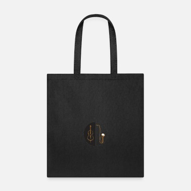 Bass double bass sax - Tote Bag