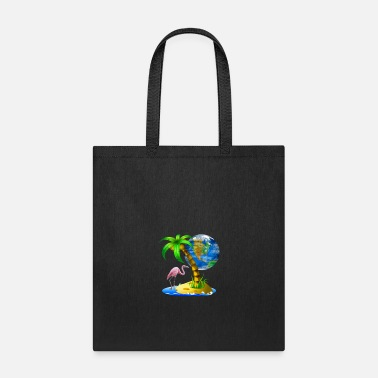 Tropical Scene - Tote Bag