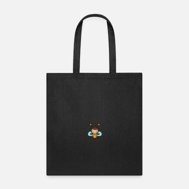 Bug Bee flows, bees design gift idea - Tote Bag