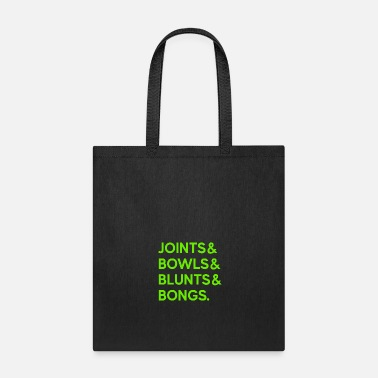 Healing Joints Bowls Blunts and Bongs T-Shirt - Tote Bag