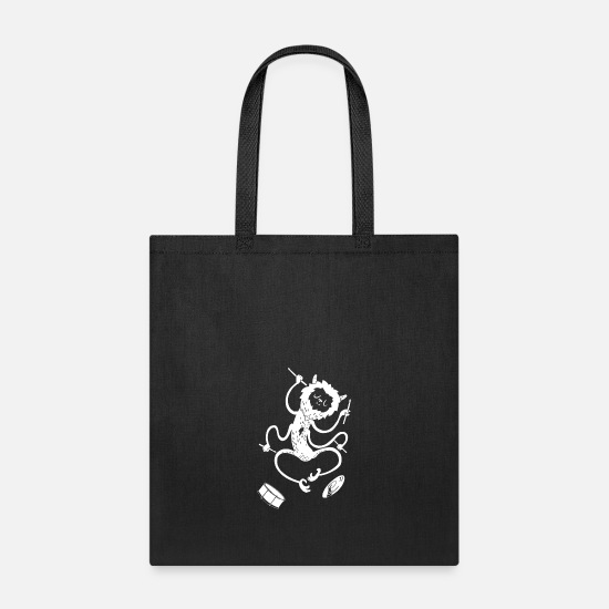Awesome Bags & backpacks - Monster - Tote Bag black