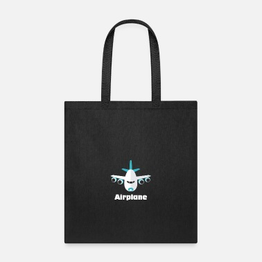 Airplane Funny City Hopper Airplane funny tshirt - Tote Bag