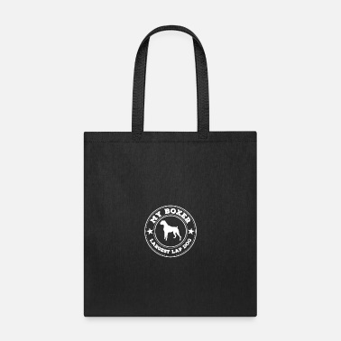 Lapsi My Boxer Is the World s Largest Lap Dog - Tote Bag