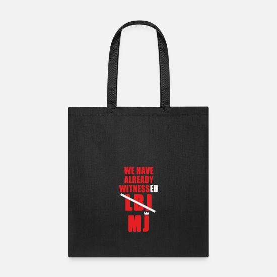 Game Bags & Backpacks - We Have Already Witnessed - Tote Bag black