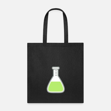 Clip Art full glass test tube green liquid test tube labora - Tote Bag