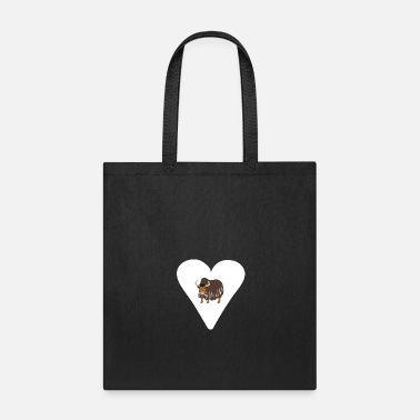 Ja A heart for yak - Tote Bag